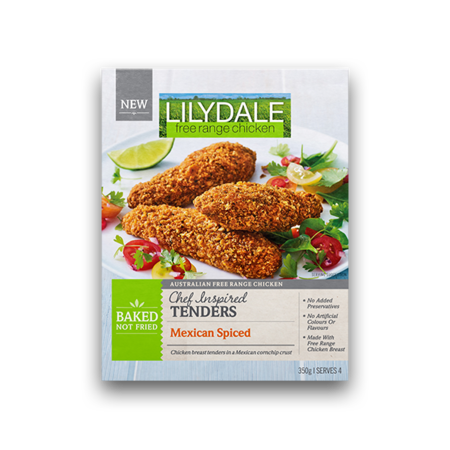 Mexican Spiced Tenders   Lilydale Free Range