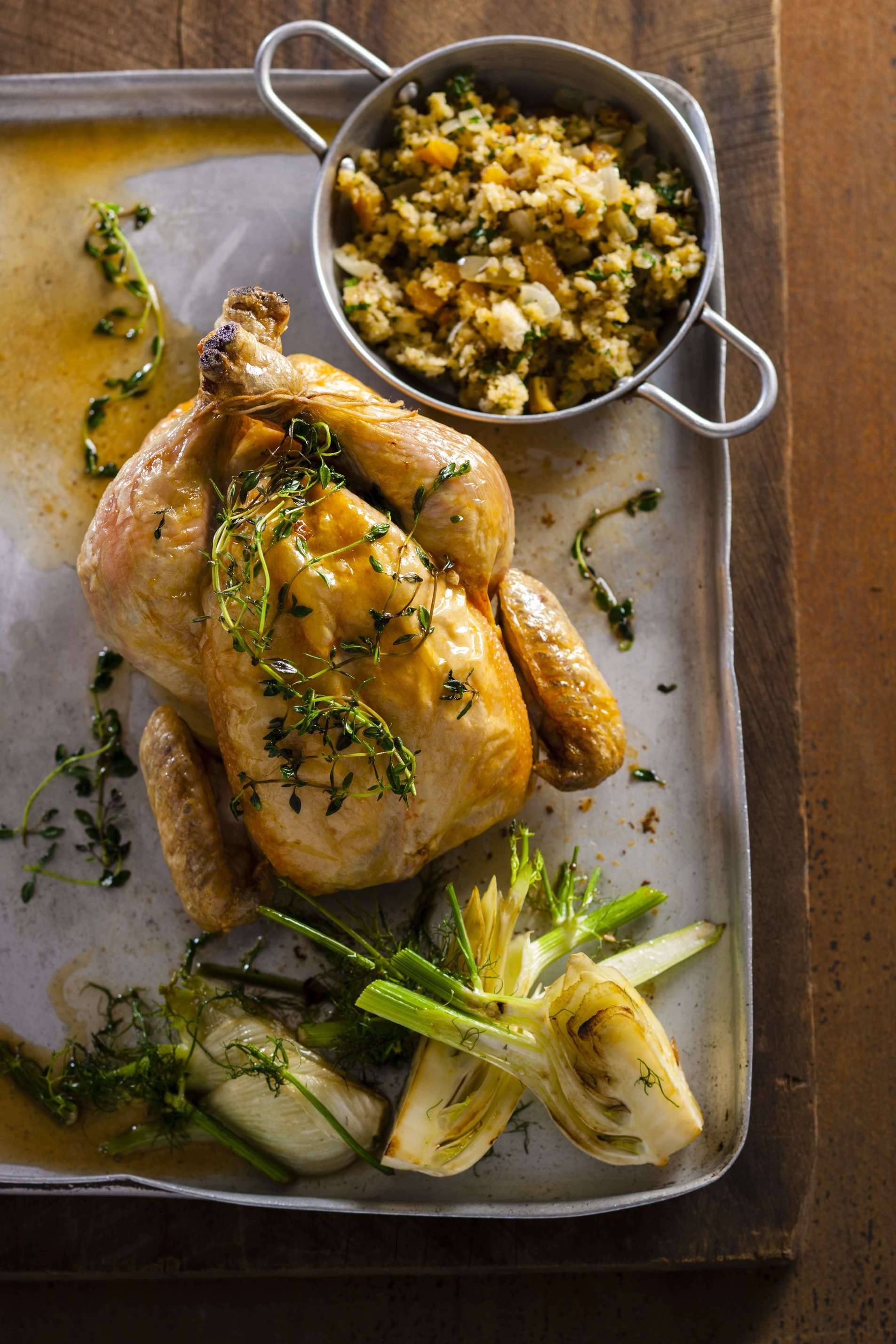 Roast Chicken With Pear Lemon Amp Fennel Seed Lilydale